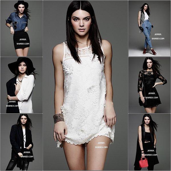 """-- 20/01/2016: CPS Chaps, une marque de mode de la rue Thai détenue par méga maison de couture Jaspal Groupe, a embauché Kendall Jenner, l'une des s½urs de la populaire """"L'Incroyable Famille Kardashian"""" reality show comme le nouveau visage de sa dernière collection. --"""