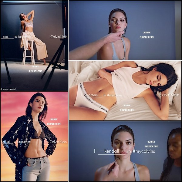 -- PHOTOSHOOT CALVIN KLEIN: Découvrez un photoshoot de Kendall Jenner absolument superbe.Vos Avis? --