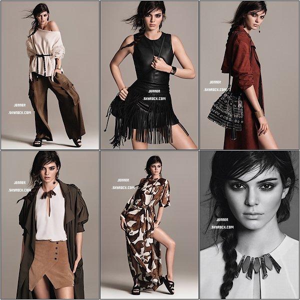 -- PHOTOSHOOT MANGO: Enfin; découvrez les photos de Kendall Jenner fait par Mango. Vos Avis? --