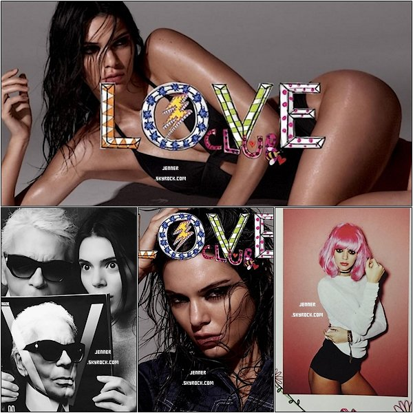 -- PHOTOSHOOT LOVE MAGAZINE: Kendall Jenner ultra hot pour Love Magazine. Votre Avis? --