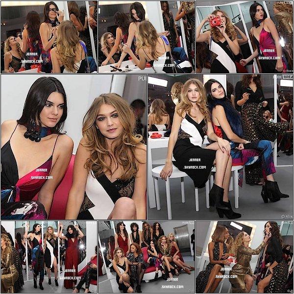 -- 14/02/2016: Kendall Jenner et Gigi Hadid sexy et complices en backstage du défilé Diane Von Furstenberg. Je trouve Kendall totalement sublime comme d'habitude. Vos Avis? --