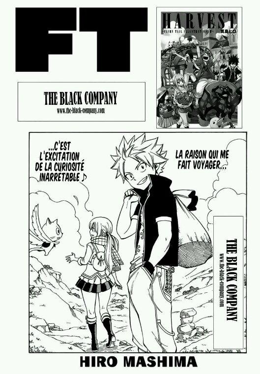 Nouveau chapitre de Fairy Tail partie 1♡