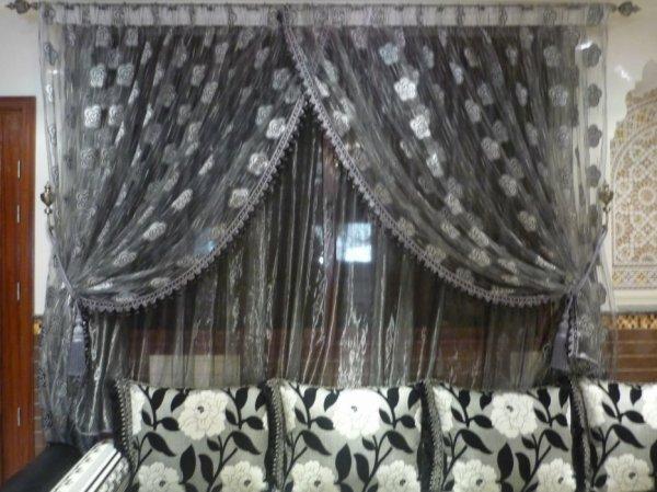 rideau marocain blog de salon marocain 2012. Black Bedroom Furniture Sets. Home Design Ideas