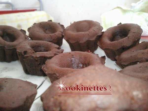 Mini Muffins Au Coeur Fondant