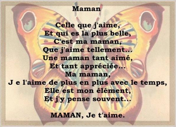 Préférence un poeme pour ma maman - Blog de steven111001 EO13