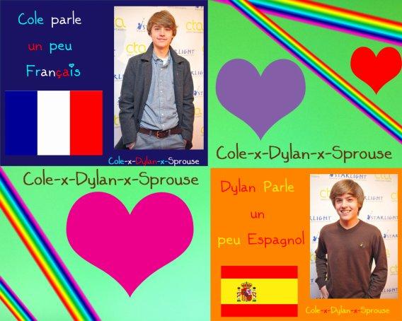 Quel langue parle Dylan et Cole ? (voici la réponse)