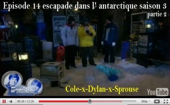 épisode de La Vie de Croisière de Zack & Cody :escapade dans l' antarctique saison 3 épisode 14
