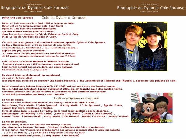 Biographie de Dylan T. & Cole M. :)
