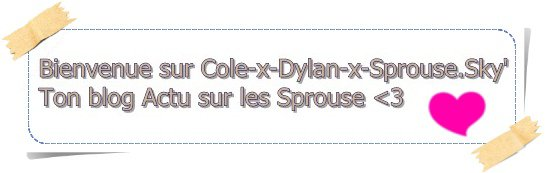 ☆ Dylan et Cole Sprouse