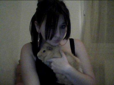 Mon cochon d'inde et moi <3