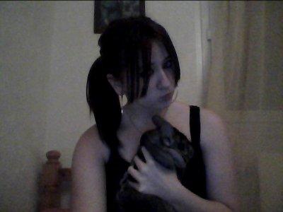 Mon chinchilla et moi