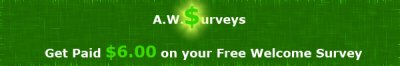 Earn Money With AWSurveys
