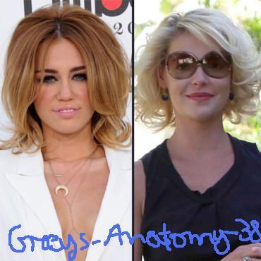 Miley Cyrus et Katherine Heigl