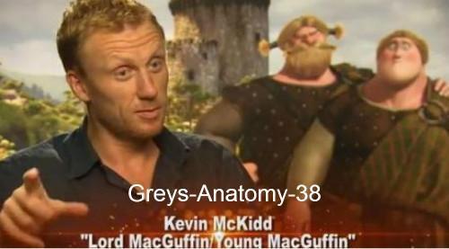 Kevin McKidd, a prêté sa voix au Prince du film d'animation « Rebelle »