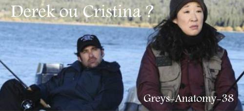 Grey's Anatomy saison 9 : Derek ou Cristina ?