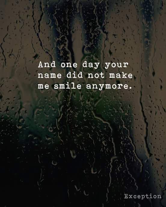 Plus jamais...