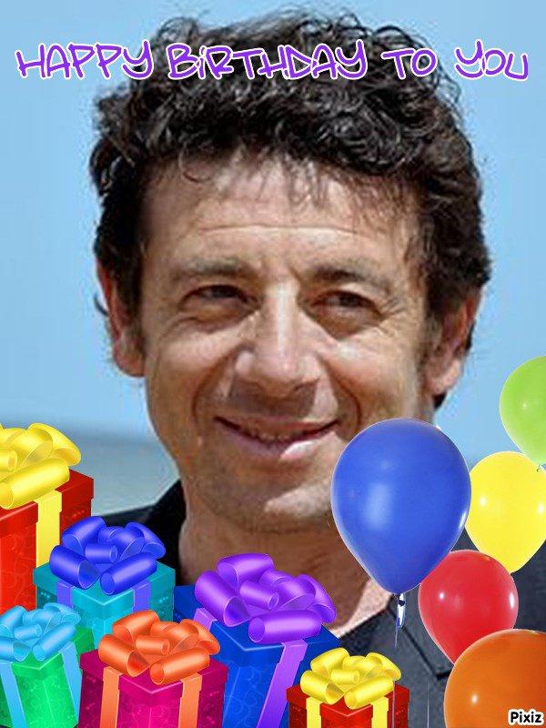 joyeux anniversaire patrick