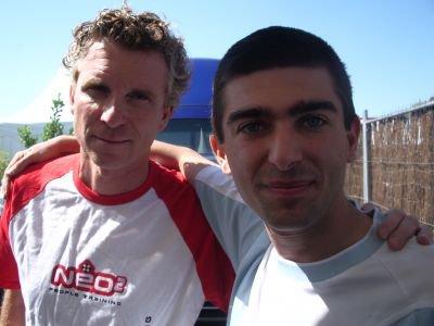 Denis Brogniart et moi
