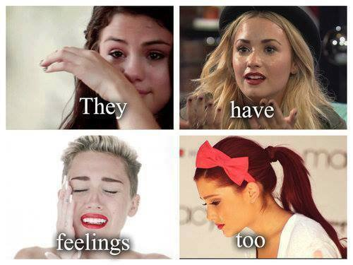 They Have Feelings Too ♥