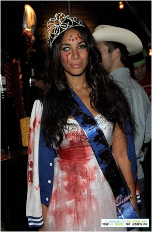 LEONA LEWIS @ MAROON 5 HALLOWEEN PARTY (LA)