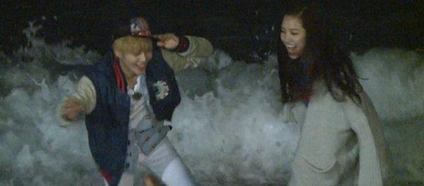 Photos de Taemin et Naeun dans leur premier date ensemble!
