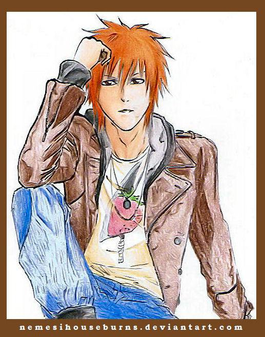 Kurosaki Ichigo ♥o♥ ( dessin autre auteur )