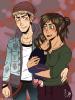 Eren(a) ,Jean et leurs fille Jana
