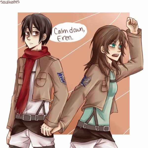 Mika(sa) et Eren(a)