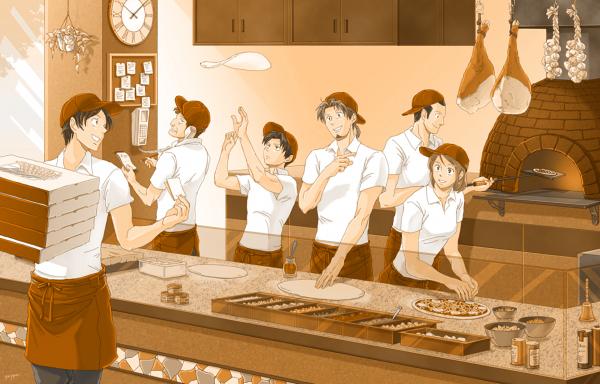 Pizzeria du bataillon  a votre service ^^