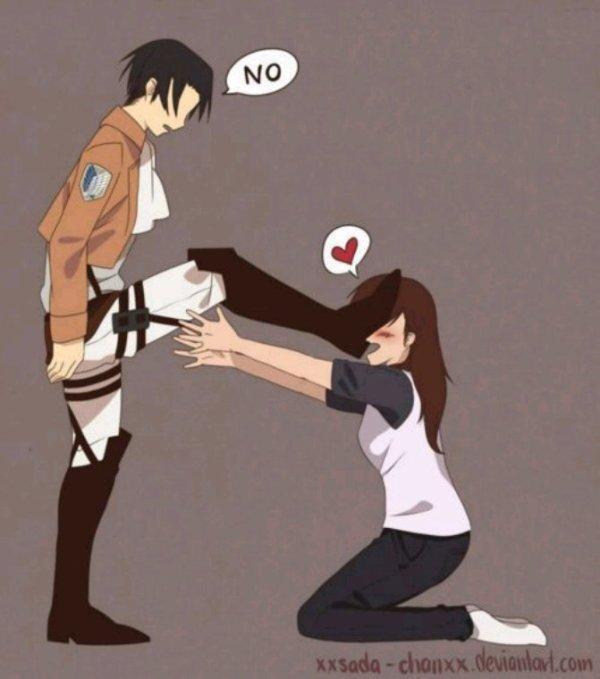 Levi : J ai dis non !