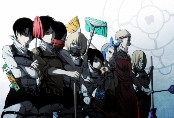 Rejoignez  nous et battons nous  ensemble pour vaincre les titan ! Shinzou Wo Sasageyo   !!