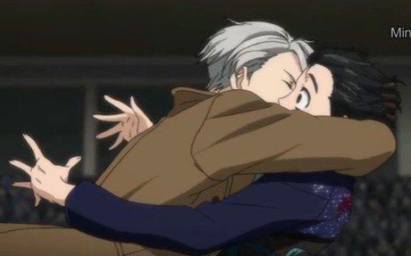 Atention Spoiler    Yuri On Ice  voila moi aussi je suis tomber pour ce manga Voici quelque photo tirée du manga  quelqu'un pourrais m'expliquais  quelle es la relation entre Yuri et Vicktor ?