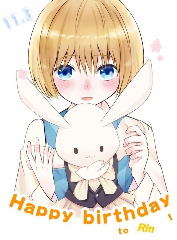 Otanjoubi omedeto Rin chan !