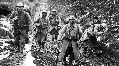 Histoire : La première guerre mondiale (leçon)