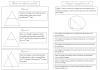 Mathématiques : Propriétés : Droites des milieux & parallèles / Triangles rectangles & cercles