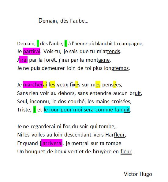 Français : Etudier un poème