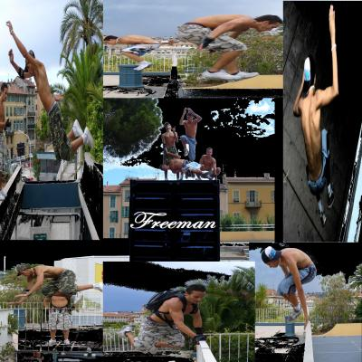 Video : Freeman-parkour :: été 2006