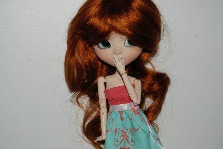 Photos de la nouvelle wig de ma puce ! feat Obitsu SBH M WHITE