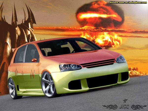 Des Golfs et des Volkswagen tunées !