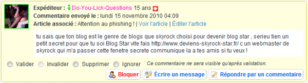 Attention au phishing !