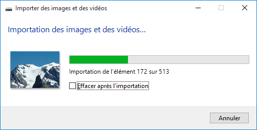 Ouvrir l'assistant d'importation Photos de Windows 7 (Windows Photo Viewer) au lieu de l'application Photos #Windows10