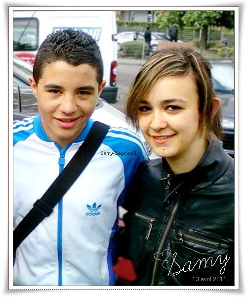 * Ce 13 avril 2011, j'ai enfin réalisé mon rêve ... celui de le rencontrer ! ♥ *