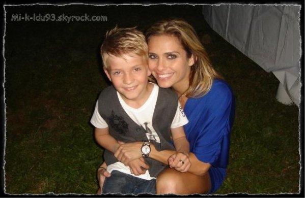 Photo de Mattéo avec Clara Morgan !!