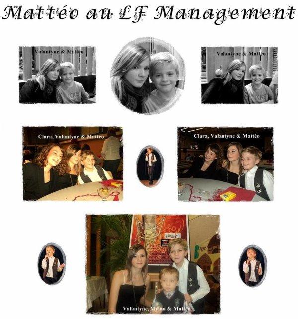 Mattéo au LF Management