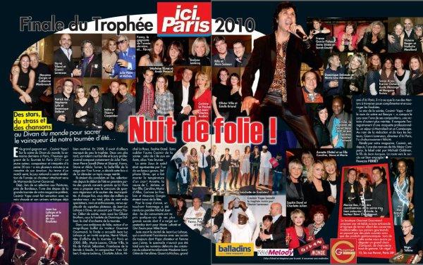 Article finale du trophée Ici Paris