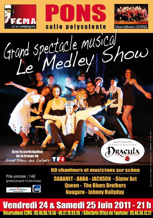 "Mattéo au grand spectacle musical ""Le Medley Show"" !!"