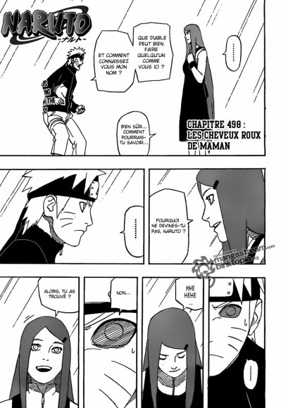 Naruto rencontre sa mere