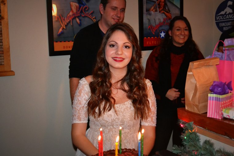 Week end du 7 au 9 décembre : My Birthday Party & Julia farewell's dinner