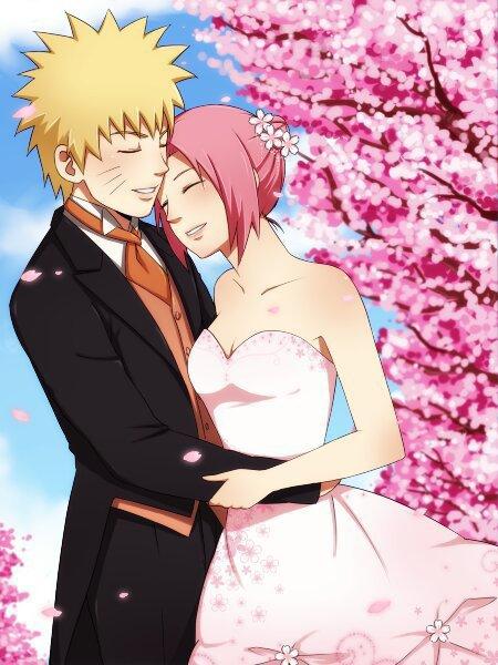 le mariage de naruto et sakura
