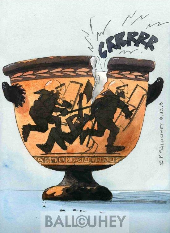 Grèce : parfum de révolte !